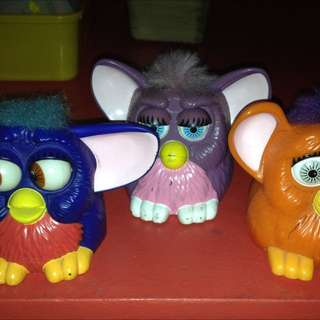 Furby Happy Meal Toy Imported