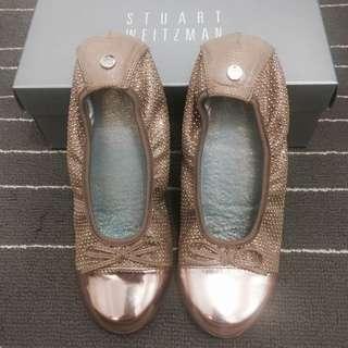 Stuart Weitzman Studded Ballerina Flats