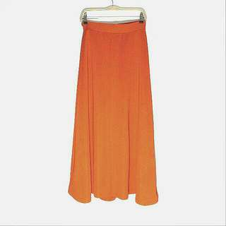 Flare Maxi Skirt