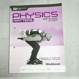 O Level | Physics Matters | Workbook