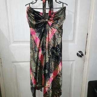 Satin Tube Dress