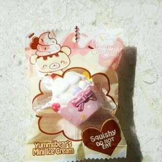 yummibear mini ice cream squishy