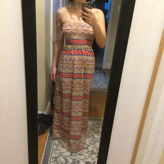 Maxi Dress Perfect For A Beach Vacay Or Just A Casual Summer Brunch ;)