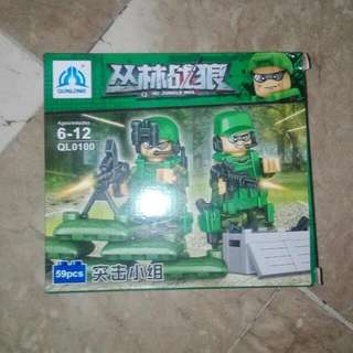 Lego Look-Alike Brick Special Forces
