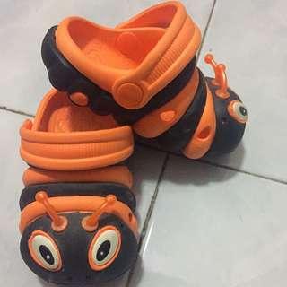 Ladybug Crocs