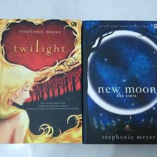 Novel Twilight & New Moon