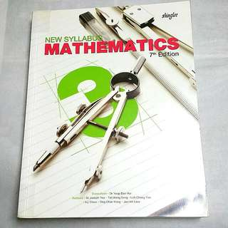 Sec 3 | New Syllabus Math | 7th Edition