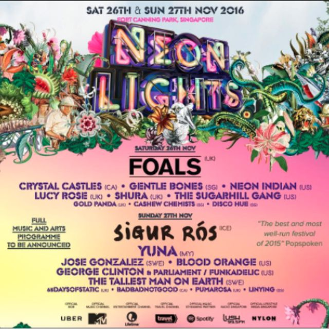 2 Neon Lights Festival Tickets (Sunday) Reserved, Entertainment, Events U0026  Concerts On Carousell