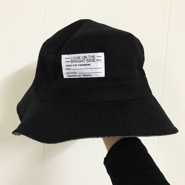 [近全新免運]雙面漁夫帽