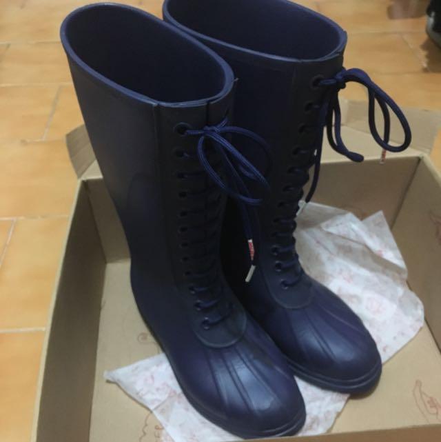 二手 媲美Hunter 超級輕量防水雨靴 native絕版  含運