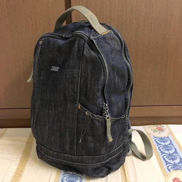 半價出售 Esprit 牛仔後背包 電腦包