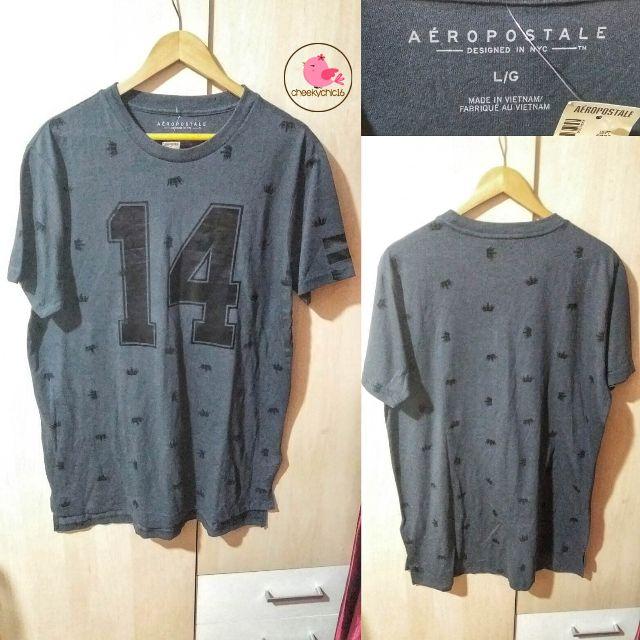 Aeropostale Tshirt in Dark Grey