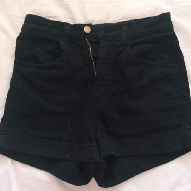 American Apparal High Waisted Shorts