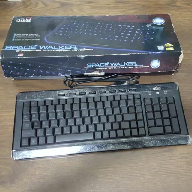 ATake Backlit (Blue) Keyboard