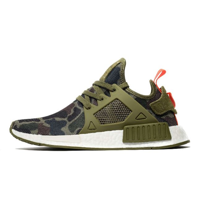 bb715cf06 Authentic Adidas NMD XR1 Duck Camo Green