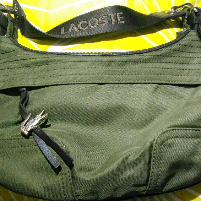 Repriced Authentic Lacoste Handbag