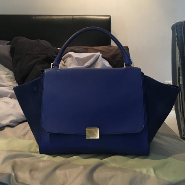 Authentic Medium Celine Trapeze