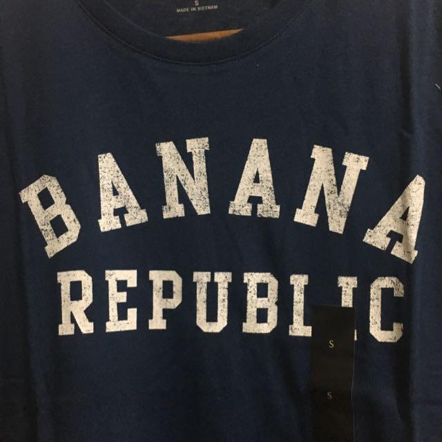 Banana Republic Blue Men Tee