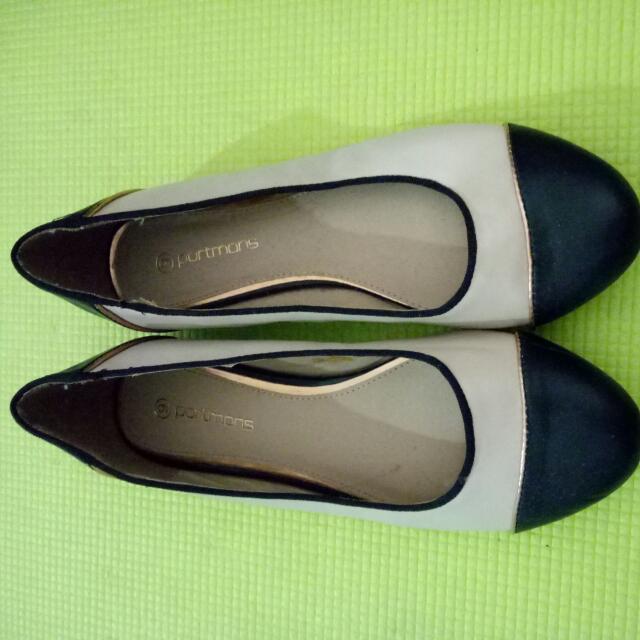 Beige Colour Flats
