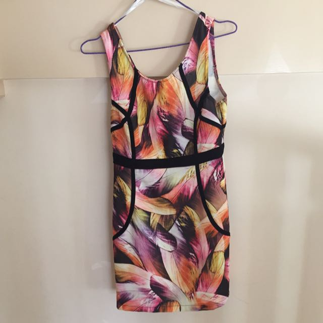 BLOCKOUT Floral Dress