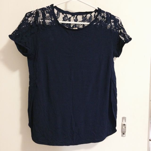 Blue top (Forever21)