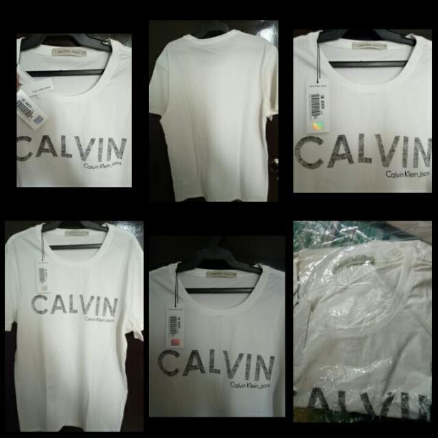 Brand New Calvin Klein White Shirt