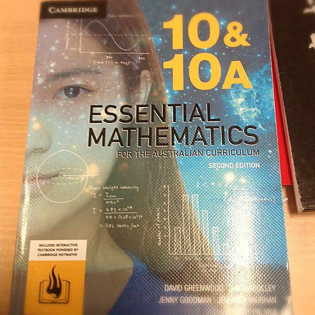 Cambridge 10 Maths Second Edition