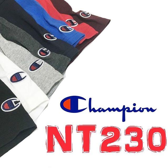Champion 小Logo素T 短T 素踢 大學T gildan 可參考