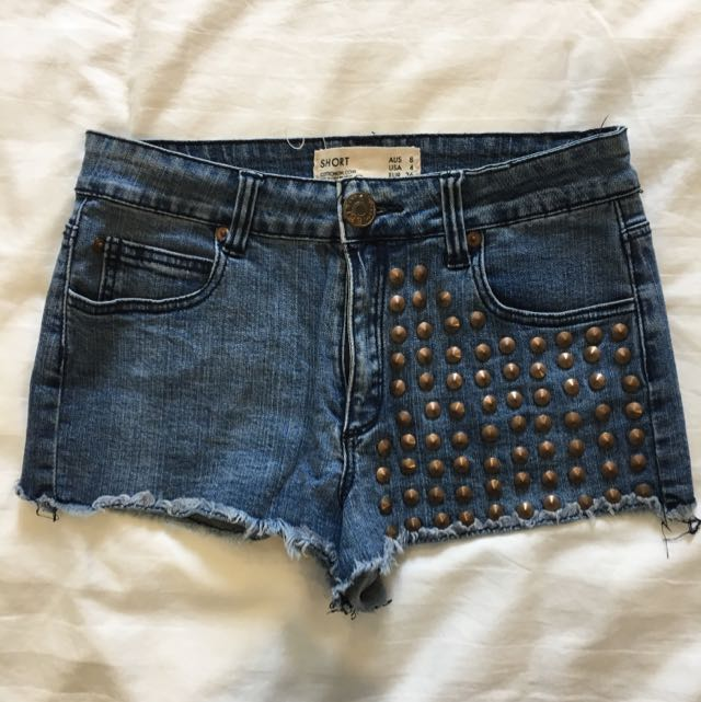 Cotton On Studded Shorts