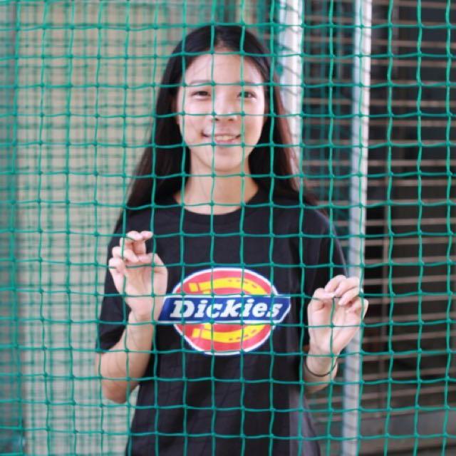Dickies 黑/白 基本款T恤 短T
