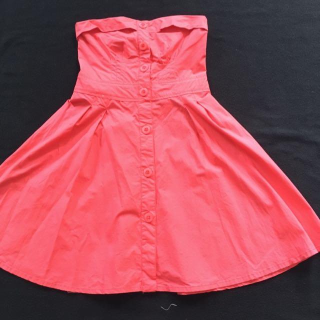 Dress Bershka Kemben