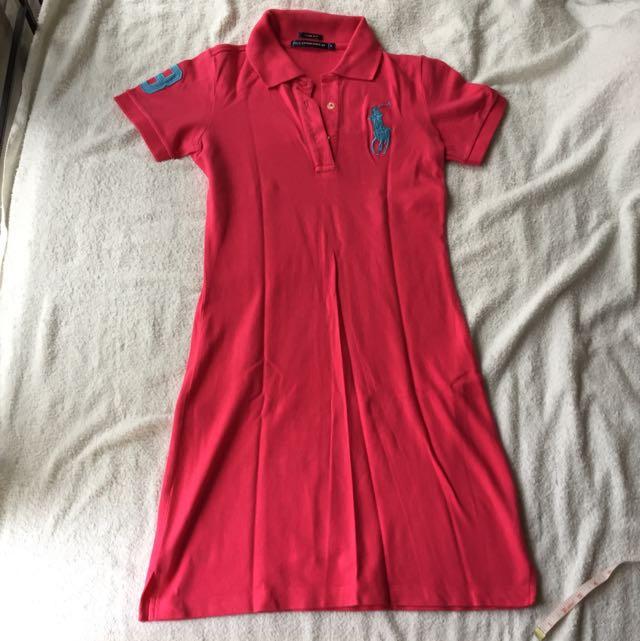 Dress Polo Pink