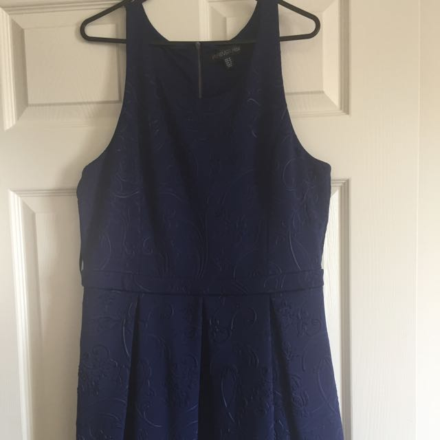 Forever New Navy Blue Skater Dress