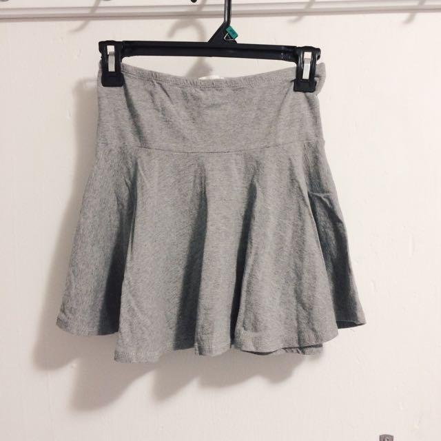 Grey Summer Skirt (Forever21)