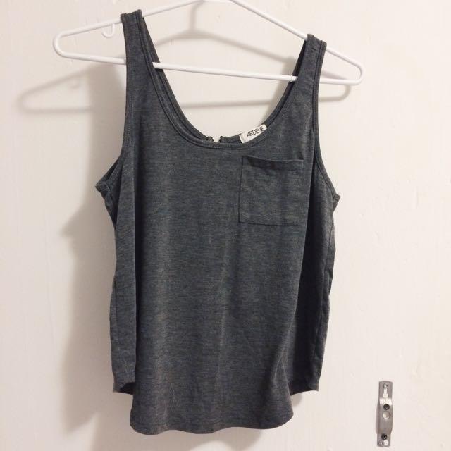 Grey top (Ardene)