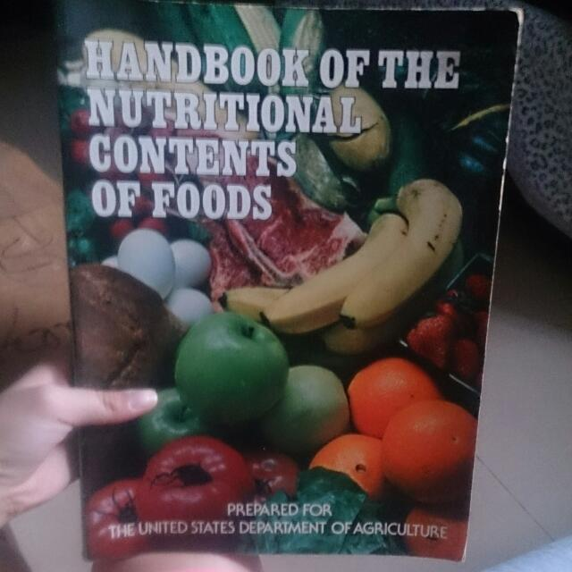 Hand Book Of The Nutritional Contents Of Food's