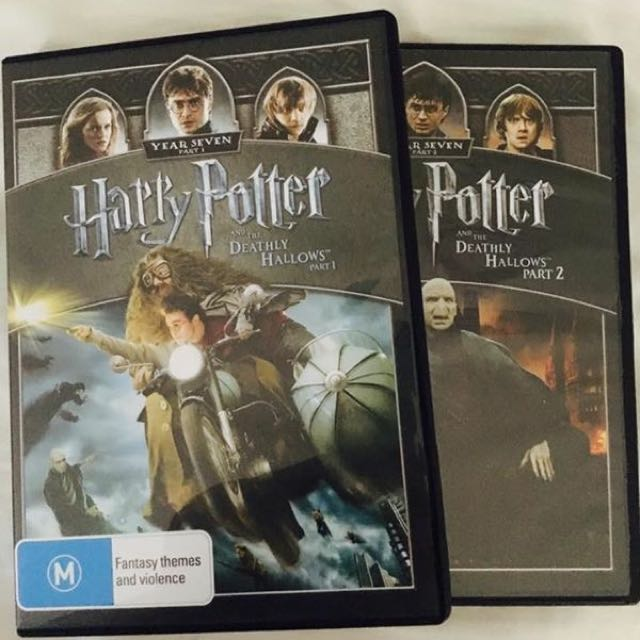 Harry Potter 7 Part 1 & 2