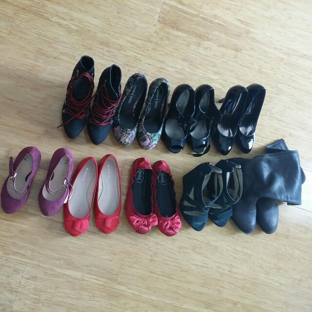 Heels, Flats, Boots All Size 5 Aus Tony Bianco Lipstik London Rebel Zu