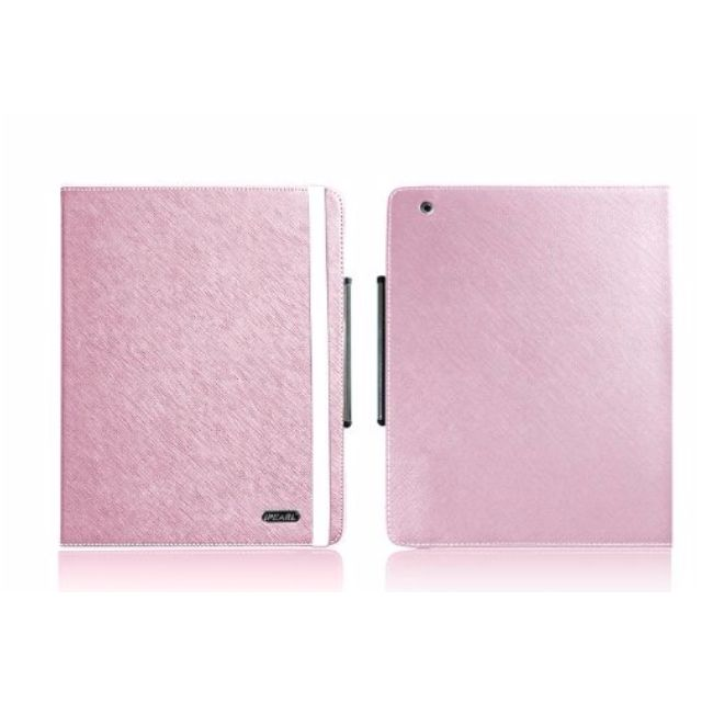 iPearl iPad 2 Hand Stand Leather Stand - Pink