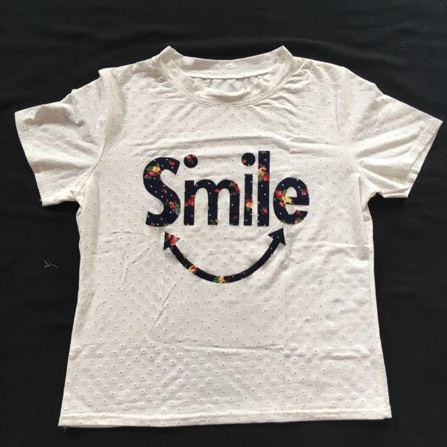 Kaos Bunga Smile