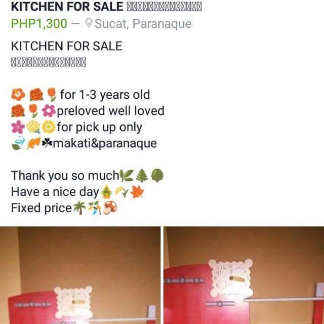 KITCHEN SET For Sale