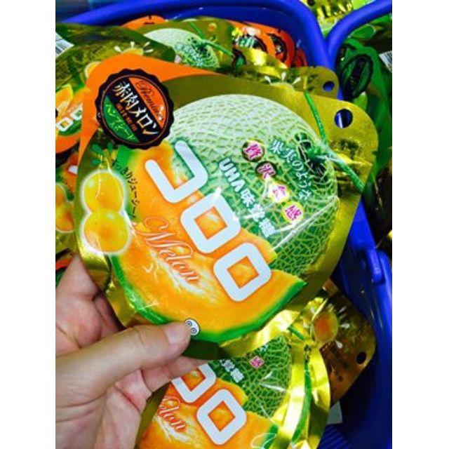 日本味覺糖Kororo哈密瓜果實QQ軟糖