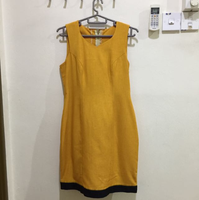 Linen work dress  #FreePostage