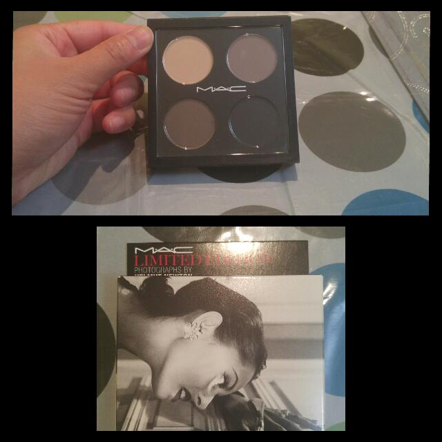 "MAC's Helmut Newton Shadow Palette ""Point ""N"" Shoot"""
