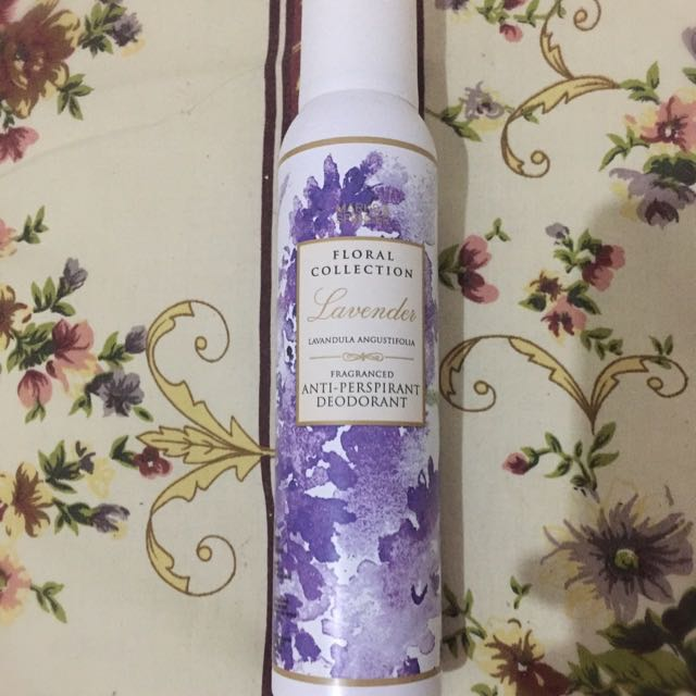 NEW Rp.50rb Marks and Spencer Lavender Anti Perspirant Deodorant