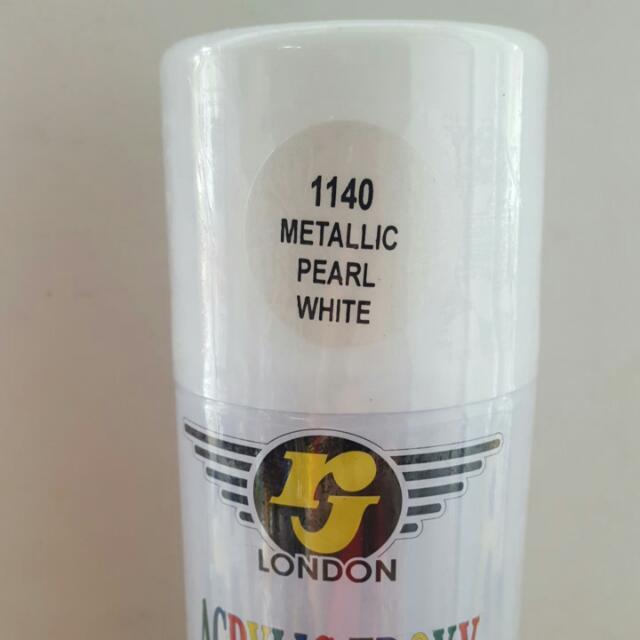 Premium Metallic Spray Paint Oz White Copper