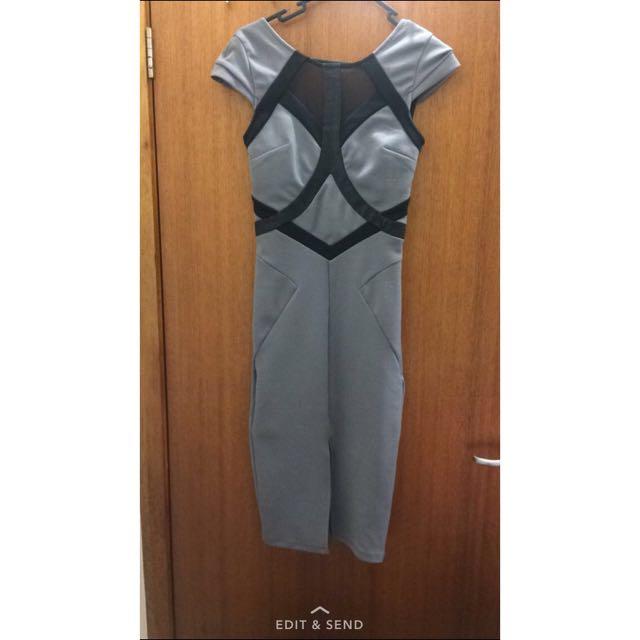 Miss Self ridge Midi Dress Size 6-8