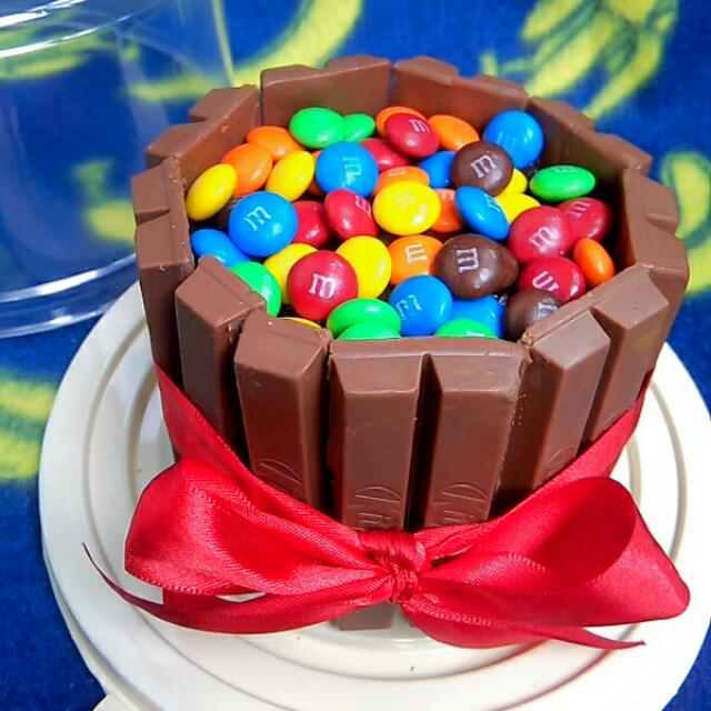 MM Kitkat Chocolate Overload Cake Food Drinks on Carousell