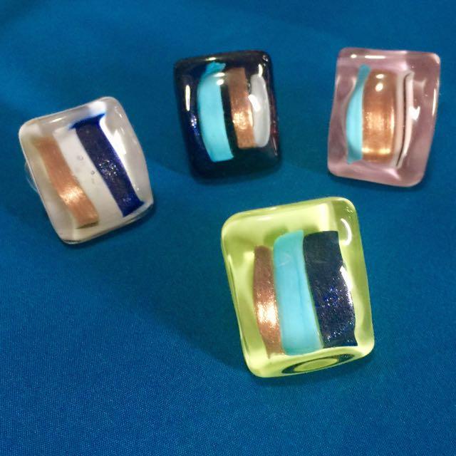 Murano Rings