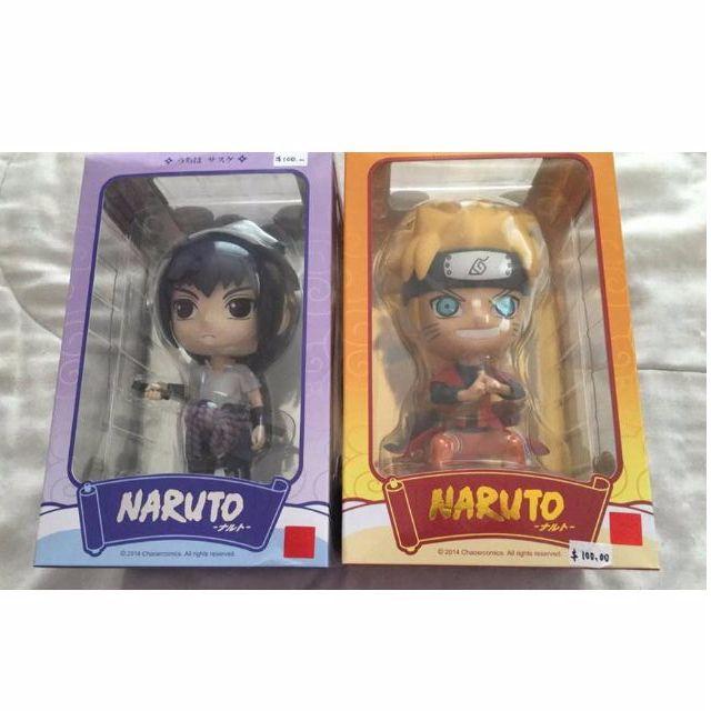 Naruto & Sasuke Figures (Price Dropped!)